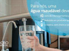 Para nós, o que define uma água mais saudável?