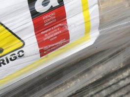Perigo com o amianto nas caixas d'água