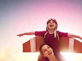 Qual é a influência da diversão na relação mãe e filho?