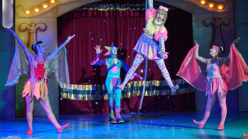Espetáculo Circo dos Sonhos no Mundo da Fantasia