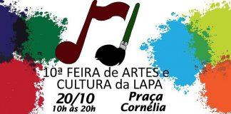 """FEIRA DE ARTES DA LAPA"""" CHEGA EM SUA 10ª EDIÇÃO"""