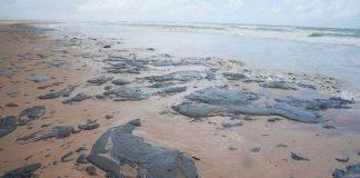 O derramamento de petróleo no Nordeste e seus problemas.