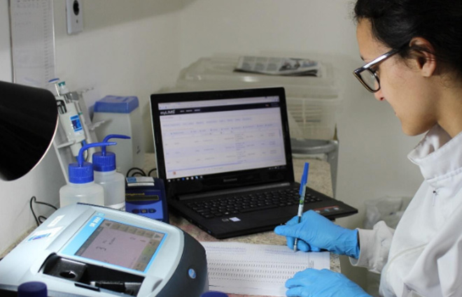 processo laboratorial