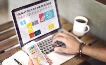 Planejamento de criação de site e marketing digital