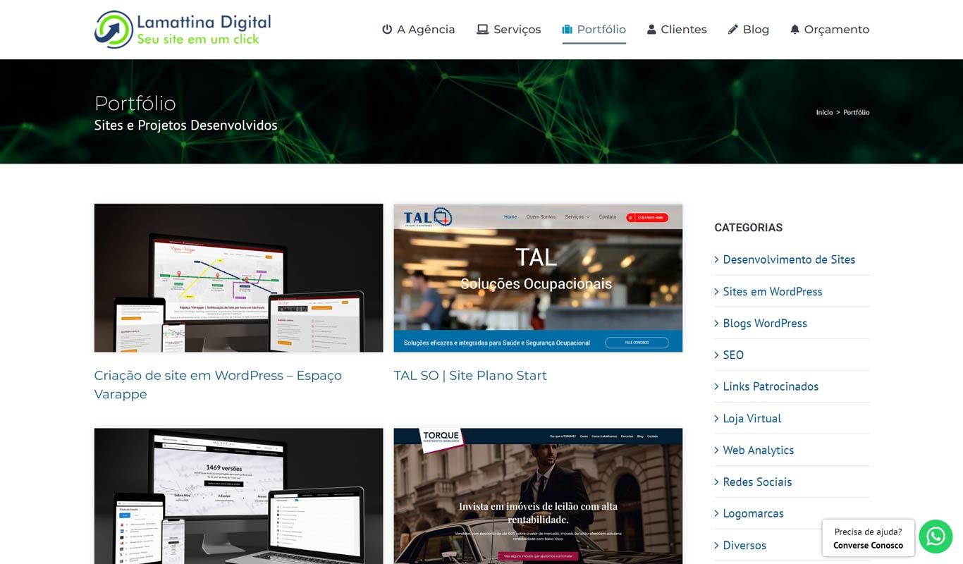 Portfólio Lamattina Marketing Digital