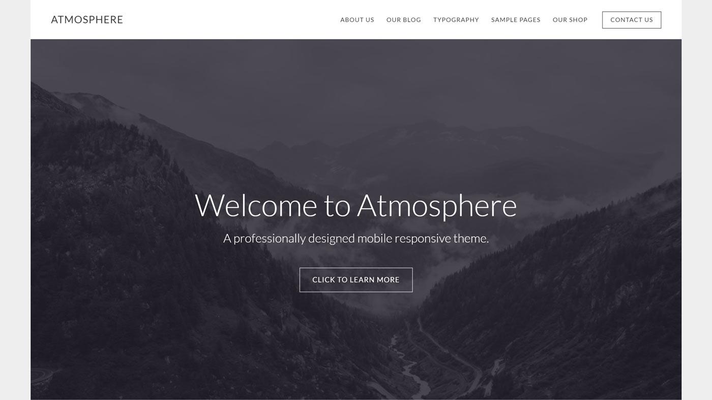 Tema para WordPress Atmosphere Pro