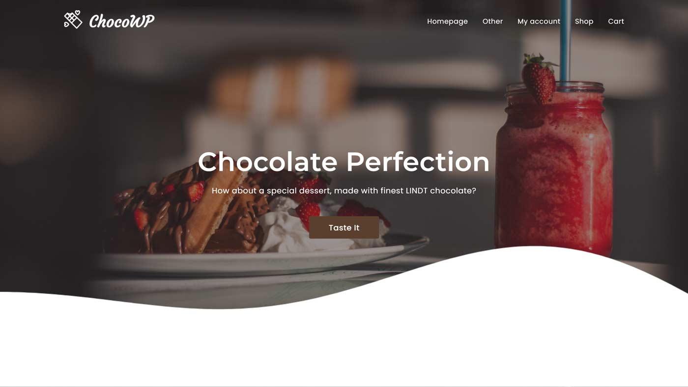 Tema ChocoWP para WordPress