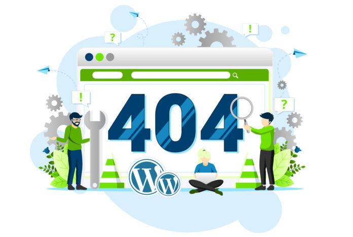 Erro 404 no WordPress como rastrear e redirecionar páginas